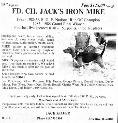 Jack's Iron Mike