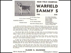 Warfield Sammy S 2