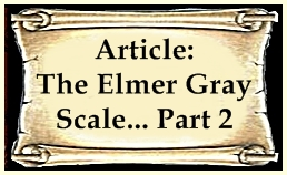 The Elmer Gray Scale Part 2 & Evaluation Chart